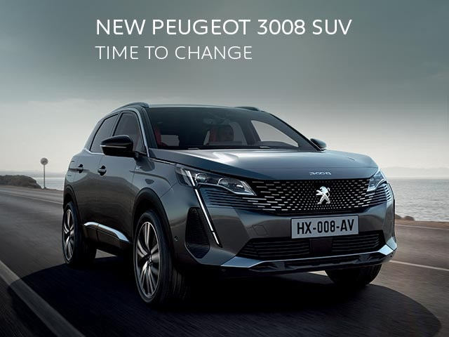 New PEUGEOT 3008 SUV | Time To Change