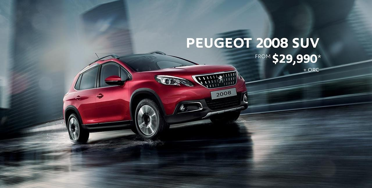 PEUGEOT 2008 SUV Significant Savings - Now From $29,990*
