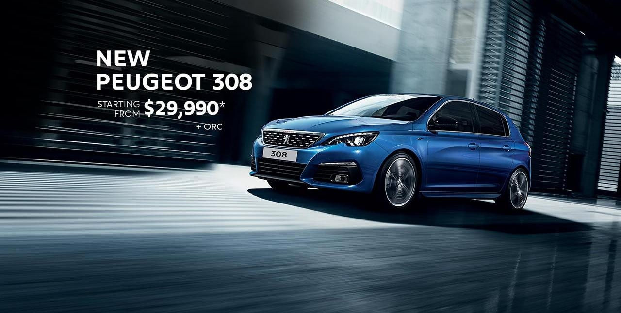 PEUGEOT 308 Significant Savings - 308 Allure now from $29,990*