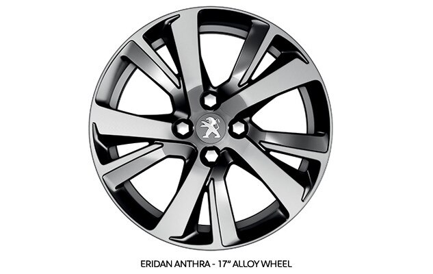 PEUGEOT 2008 SUV Allure optional alloy wheel