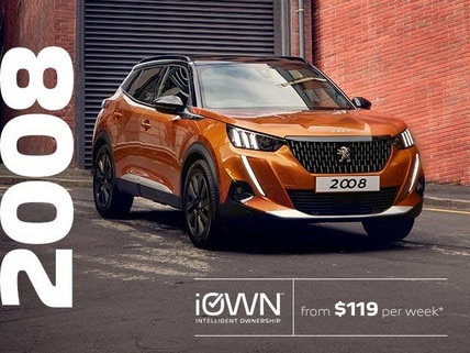 PEUGEOT 2008 SUV With iOWN Intelligent Ownership | From $119 per week* and Guaranteed Future Value
