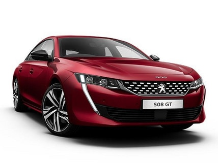 PEUGEOT 508 GT Launch Edition Front View