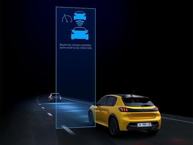 All-New PEUGEOT 208: Intelligent Driving Aids