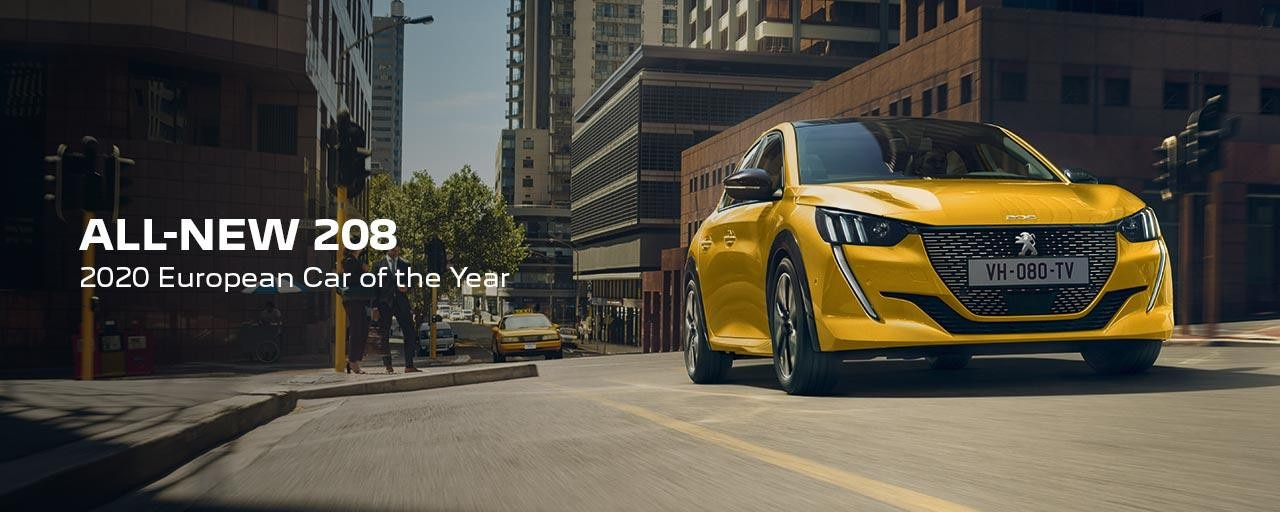 All-New PEUGEOT 208 Hatchback | 2020 European Car of the Year