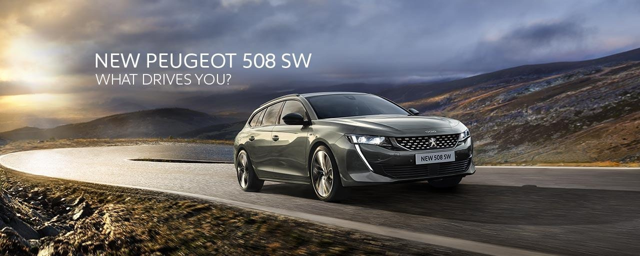 New PEUGEOT 508 SW | What Drives You?