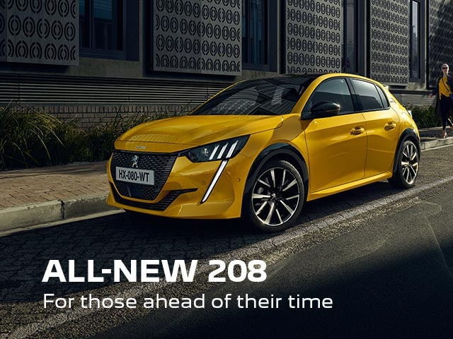 All-New PEUGEOT 208 Hatchback | For Those Ahead Of Their Time