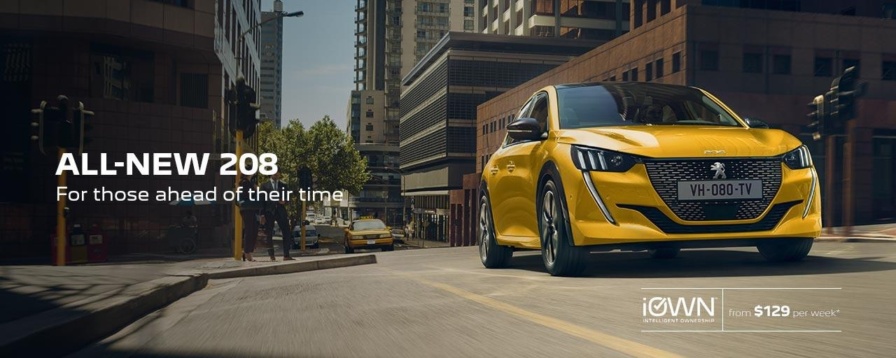 All-New PEUGEOT 208 Hatchback For Those Ahead Of Their Time | iOWN Intelligent Ownership
