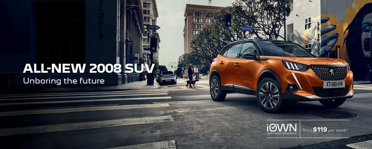 All-New PEUGEOT 2008 SUV Unboring The Future | iOWN Intelligent Ownership