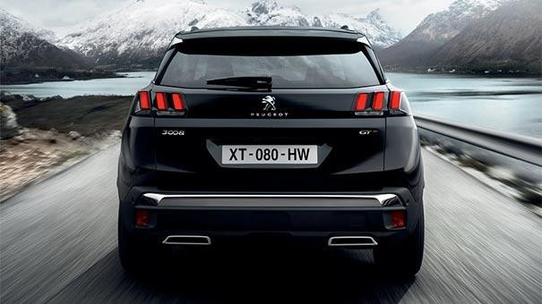 PEUGEOT 3008 SUV Design | LED Rear Lights