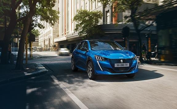 New PEUGEOT e-208 100% Electric Car Engine | Driving Modes