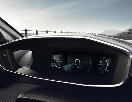 New PEUGEOT e-208 100% Electric Car | 3D Digital Instrument Panel
