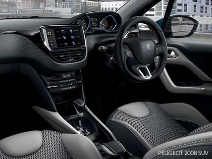 PEUGEOT 2008 SUV i-Cockpit Interior