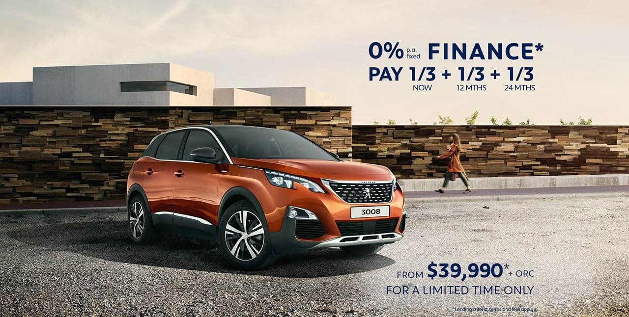 Offers | PEUGEOT 3008 SUV Showroom | Test Drive Today