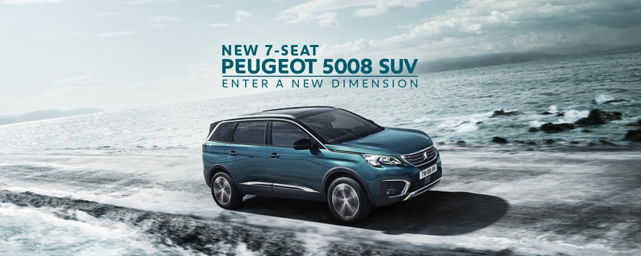 All-New PEUGEOT 5008 SUV 7 seat