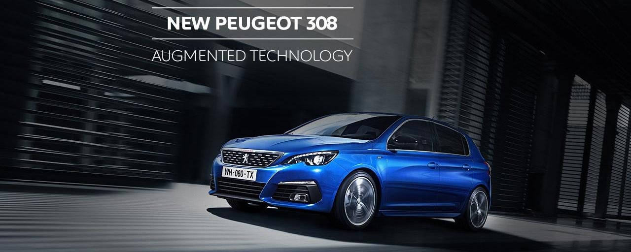 New PEUGEOT 308 Augmented Technology