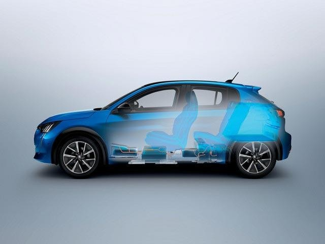 PEUGEOT Electric Vehicle Technology