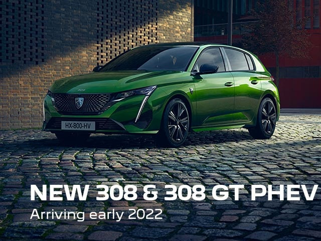 New PEUGEOT 308 & 308 GT PHEV   Arriving Early 2022