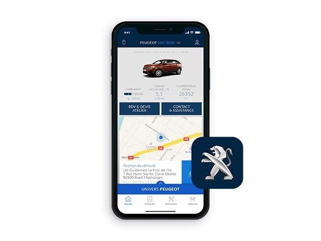 MyPEUGEOT App | PEUGEOT 3008 SUV