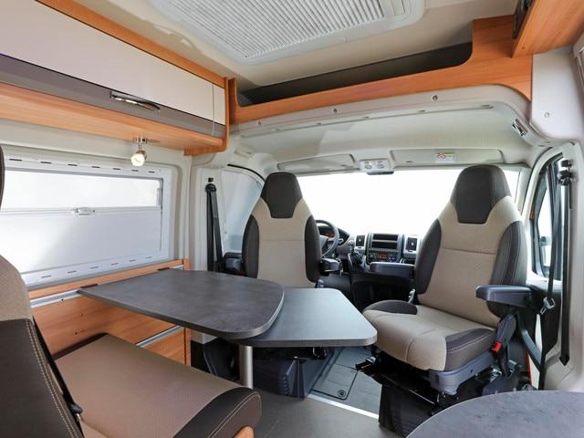 Peugeot Camping car interior