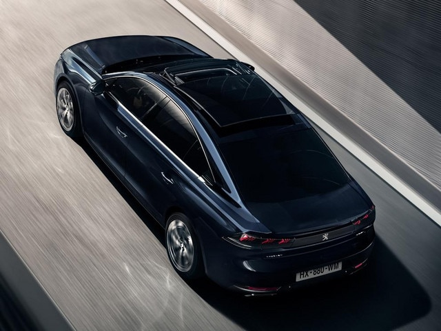 New PEUGEOT 508 With Optional Panoramic Opening Glass Roof