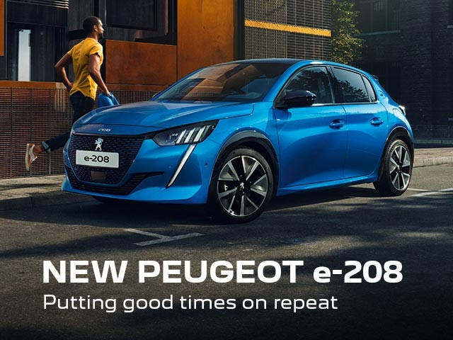 New PEUGEOT e-208 Electric Vehicle | Putting Good Times On Repeat