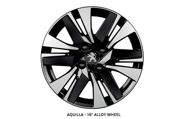 PEUGEOT 2008 SUV Allure alloy wheel