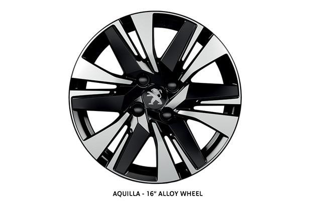 PEUGEOT 2008 SUV Allure alloy wheel