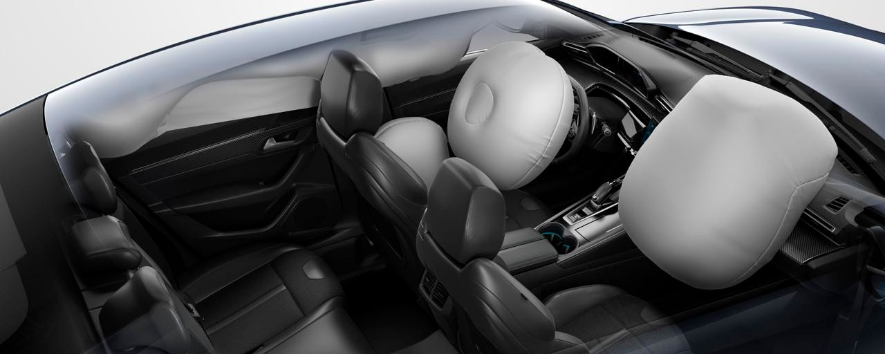 New PEUGEOT 508 saloon, airbags