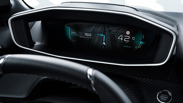 New PEUGEOT 208 Hatchback Drive Station | Digital 3D Instrument Panel