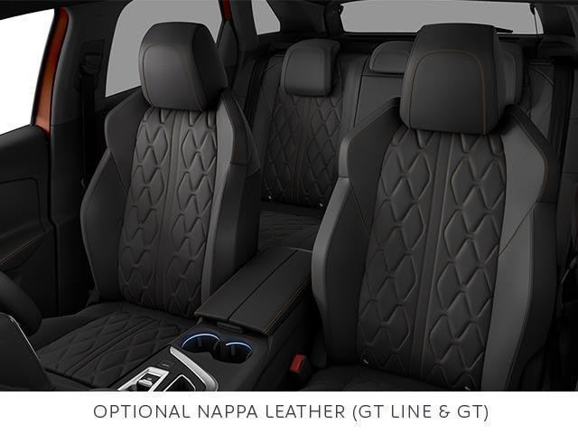 PEUGEOT 3008 SUV optional nappa leather seat trim
