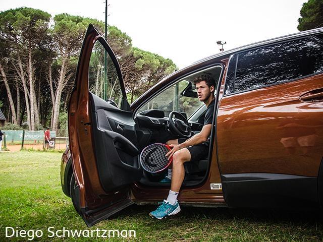 Diego Schwartzman legend