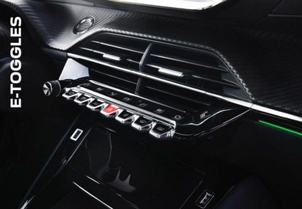 PEUGEOT New Experience | Toggle Switches