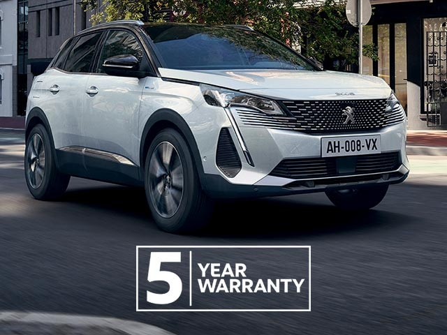 New PEUGEOT 3008 SUV HYBRID | Plug-In Hybrid and AWD | Now With 5 Year Warranty