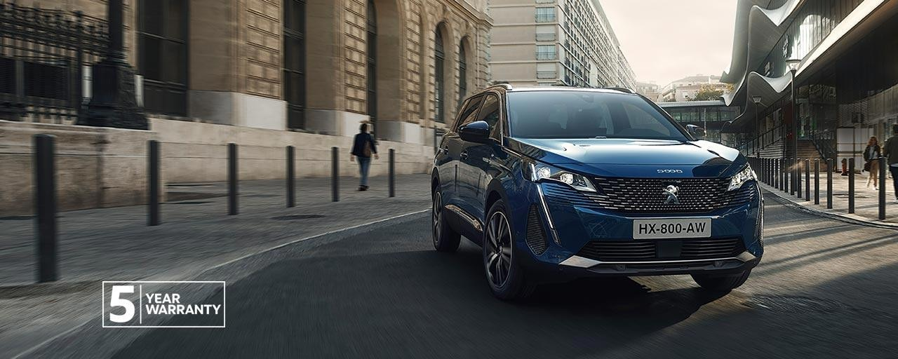 New Large PEUGEOT 5008 SUV with 7 Seats | Now With 5 Year Warranty