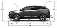 New PEUGEOT 3008 SUV | Exterior Dimensions