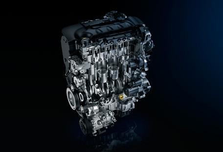 PEUGEOT BlueHDi diesel engine
