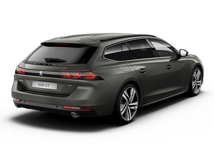 New PEUGEOT 508 SW rear view