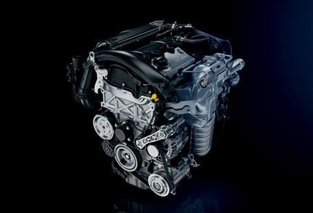 PEUGEOT THP turbo petrol engine