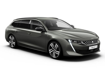 New PEUGEOT 508 SW front view