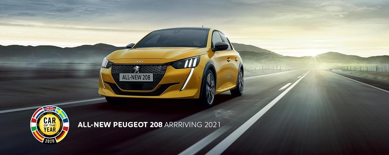 All-New PEUGEOT 208 | 2020 European Car Of The Year | Arriving 2021