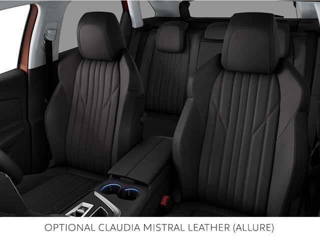 PEUGEOT 3008 SUV optional leather seat trim