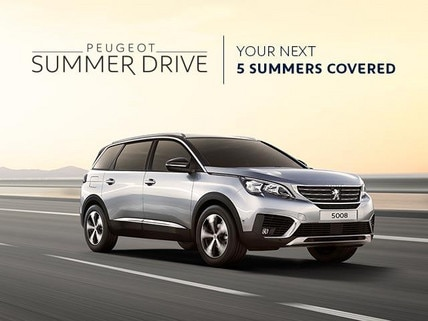 PEUGEOT 5008 SUV Summer Drive Offer - Your Next 5 Summers Covered