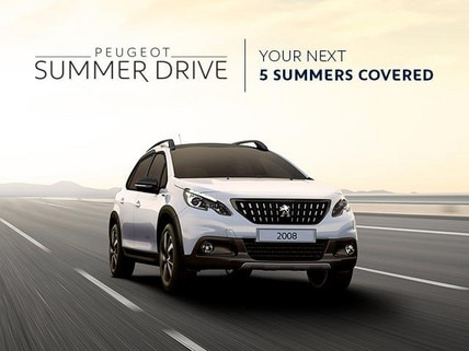 PEUGEOT 2008 SUV Summer Drive Offer - Your Next 5 Summers Covered