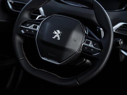 compact steering wheel