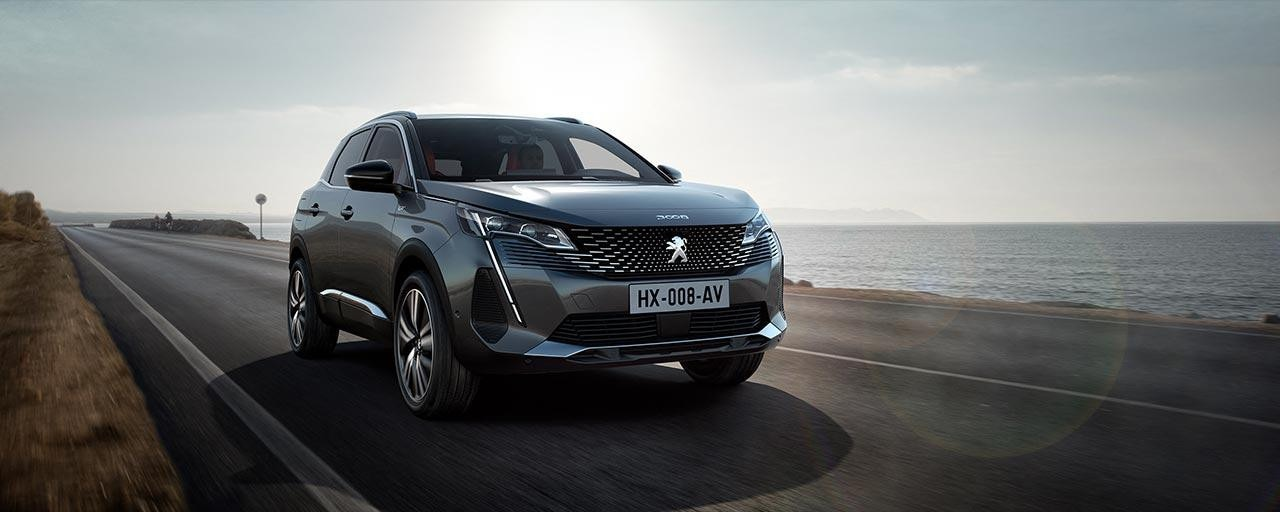New PEUGEOT 3008 SUV   New Front Face With A Strong Personality