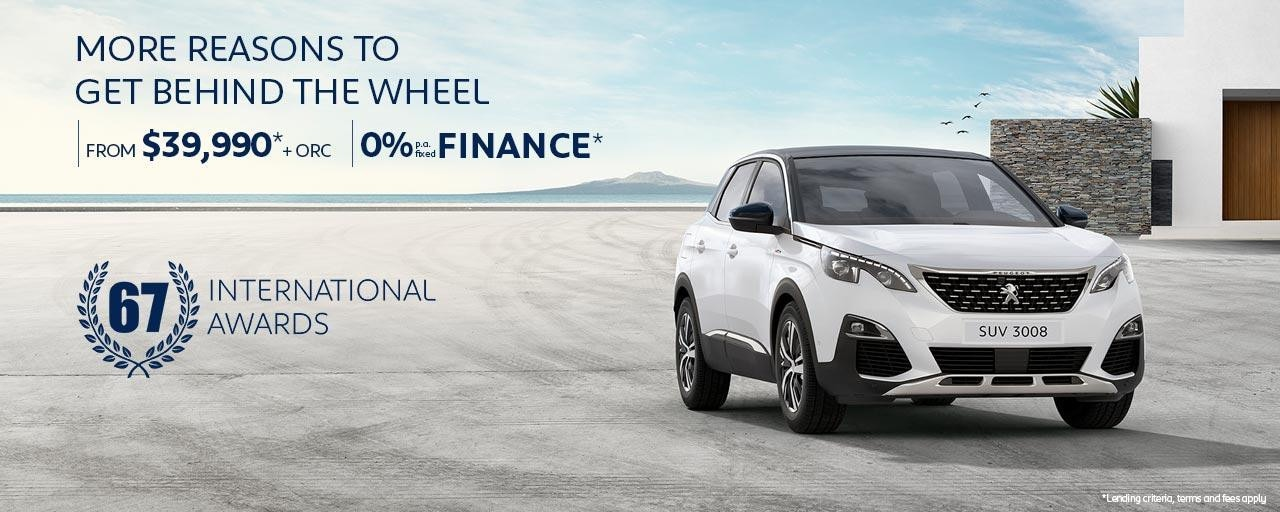 PEUGEOT 3008 SUV Offers | Active From $39,990* | 0% P.A. Finance* | Buy Now At Your PEUGEOT Dealer