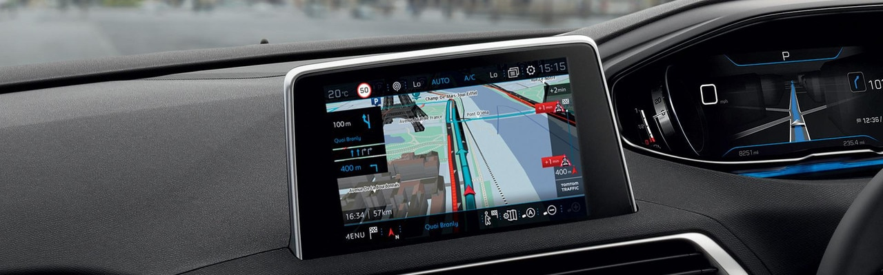 PEUGEOT 3008 SUV 3D navigation