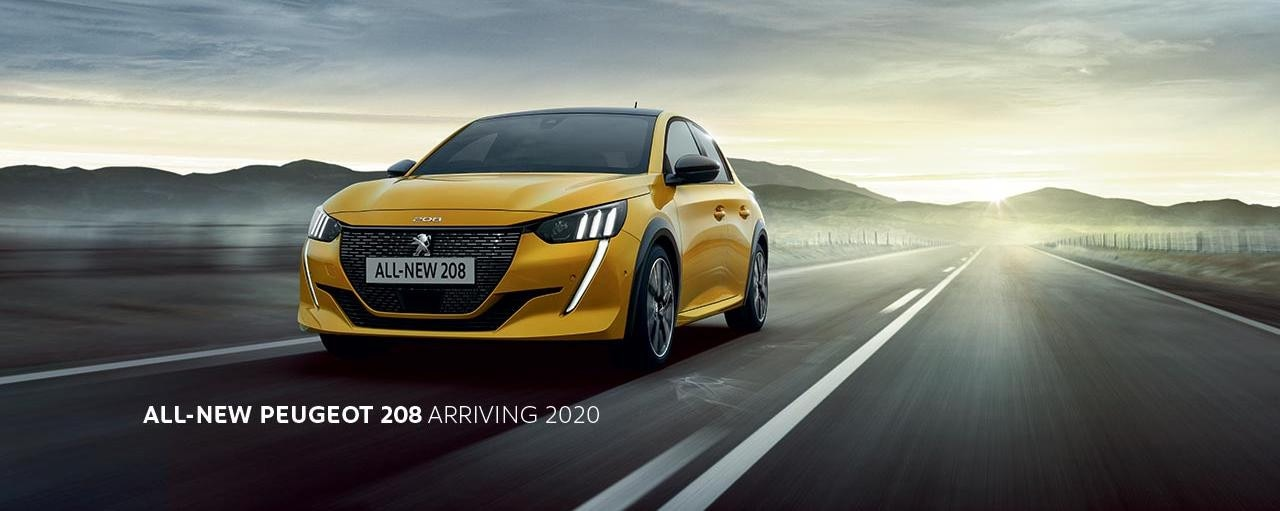 All-New PEUGEOT 208 small car hatchback