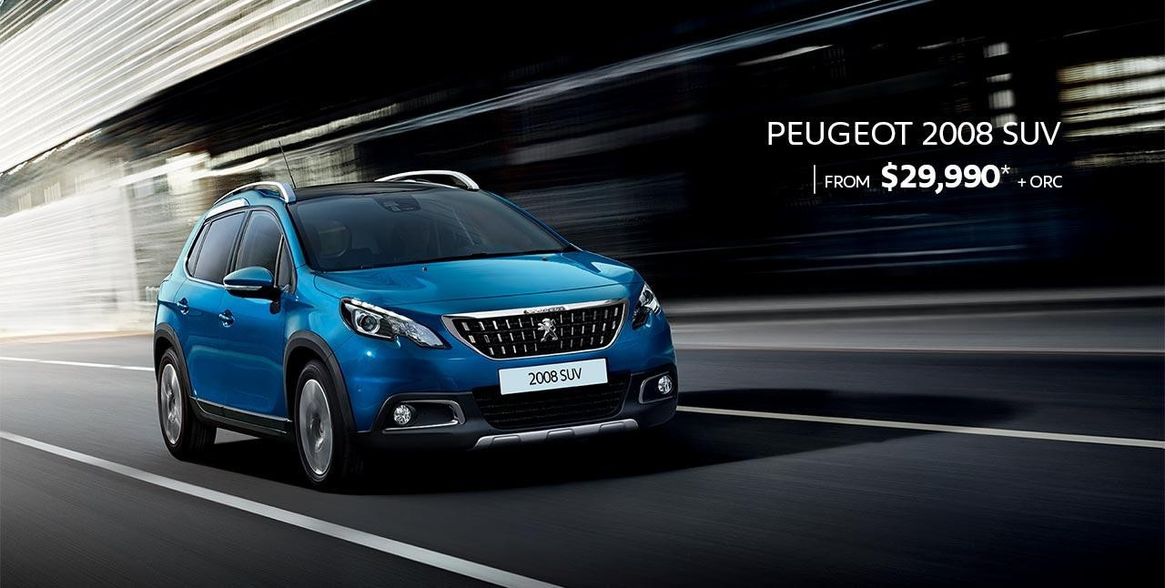 PEUGEOT 2008 SUV From $29,990* + ORC | Test Drive Today at your PEUGEOT Dealer