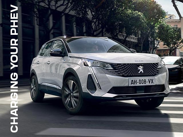 How To | All About Charging Your PEUGEOT Plug-In Hybrid Vehicle